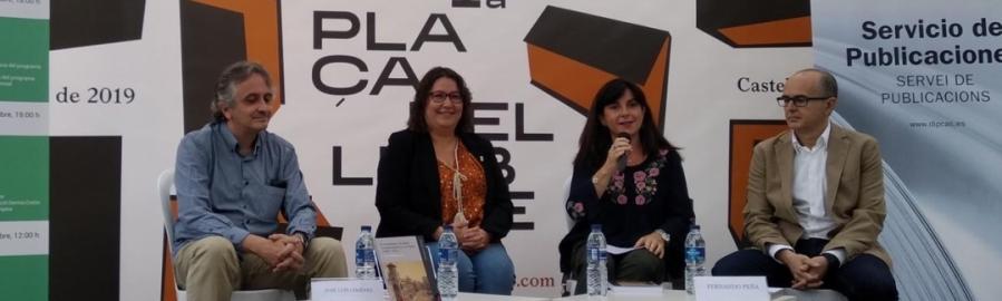 La Plaça del Llibre de Castelló acoge la presentación de dos libros del Servicio de Publicaciones