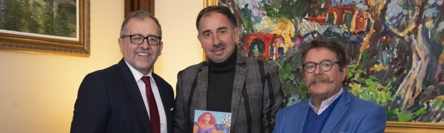 """Martí destaca """"la gran aportación"""" de Bolumar a la historia del arte de Castellón"""