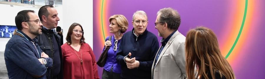 José Martí destaca en ARCO 2020 que el Servicio Provincial de Restauración se ha especializado en la recuperación de obras de arte contemporáneo