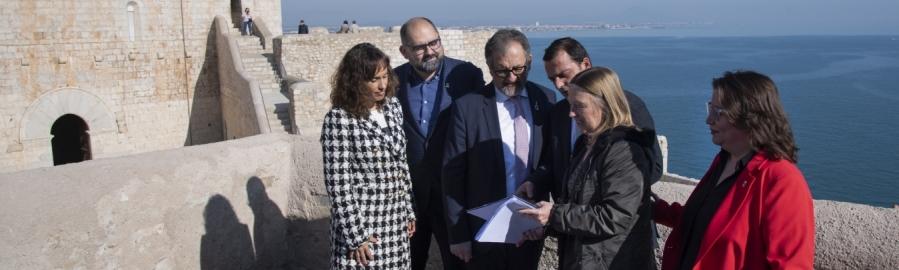 La Diputación hace accesible en 3D el Castillo de Peñíscola en tiempo de crisis y confinamiento