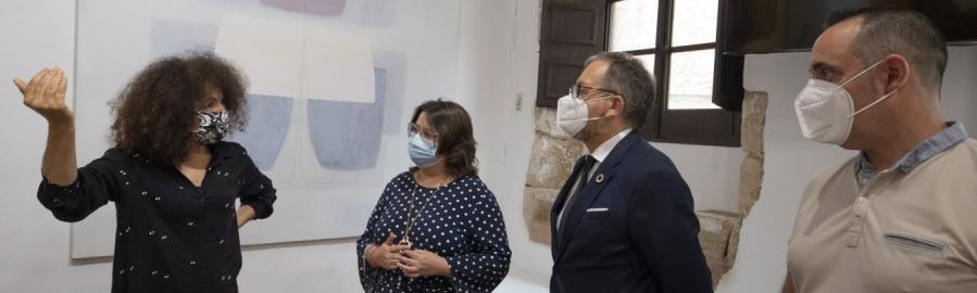 La Diputación renueva la estructura del Museo de Arte Contemporáneo de Vilafamés afectada por un proyectil de la Guerra Civil