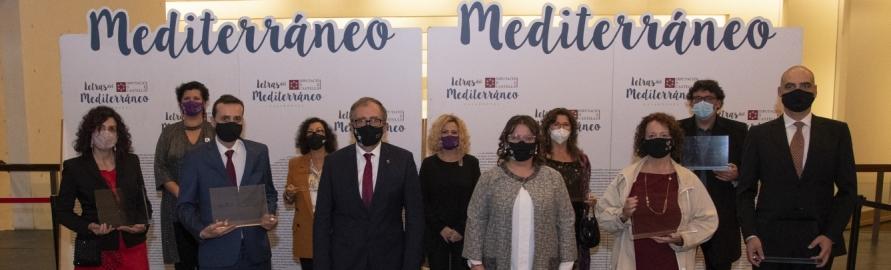 La Diputación de Castellón premia las cuatro mejores obras literarias ambientadas en la provincia en la gala 'Letras del Mediterráneo'
