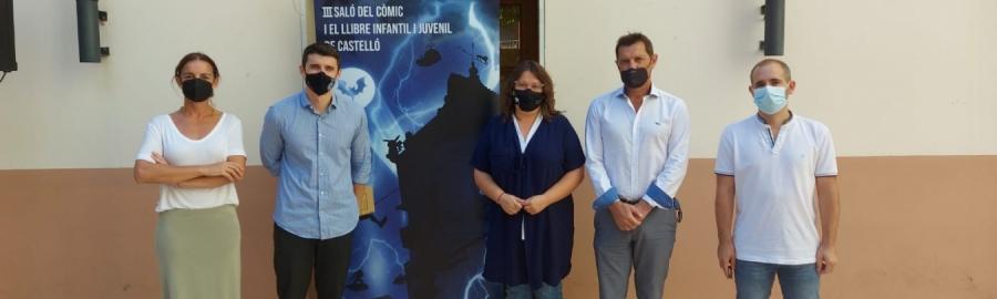 Castelló reunirá este septiembre en les Aules lo mejor del cómic y el libro infantil y juvenil